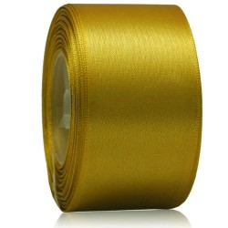 36mm Senorita Satin Ribbon - Khaki 246