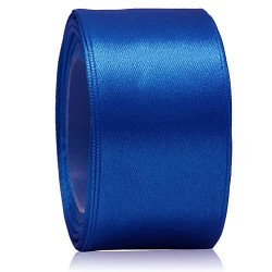 36mm Senorita Satin Ribbon - Electric Blue 25