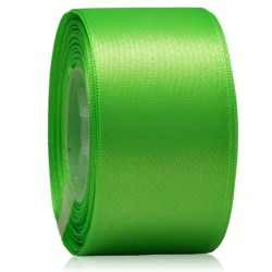 36mm Senorita Satin Ribbon - Bright Green 251