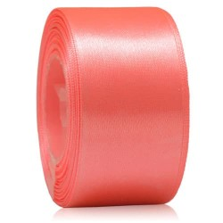 36mm Senorita Satin Ribbon - Salmon 254