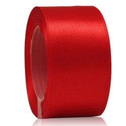 36mm Senorita Satin Ribbon - Red 28