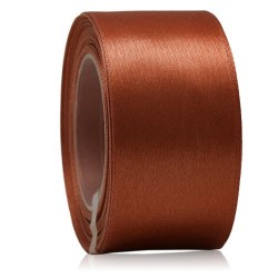 36mm Senorita Satin Ribbon - Cinnamon 568