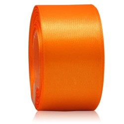 36mm Senorita Satin Ribbon - Orange 6