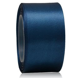 36mm Senorita Satin Ribbon - Dark Blue A13