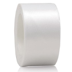 36mm Senorita Satin Ribbon - White