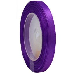 6mm Senorita Satin Ribbon - Purple 014