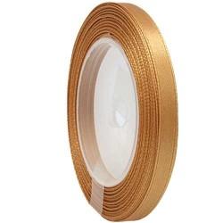 6mm Senorita Satin Ribbon - Dark Goldenrod 03