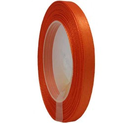 6mm Senorita Satin Ribbon - Dark Orange 116