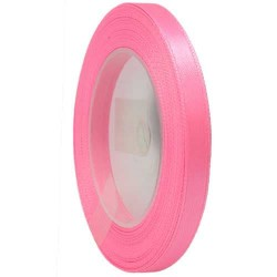 6mm Senorita Satin Ribbon - Deep Pink 13