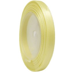 6mm Senorita Satin Ribbon - Pearl 224