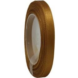 6mm Senorita Satin Ribbon - Classic Gold 226