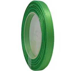 6mm Senorita Satin Ribbon - Green 240