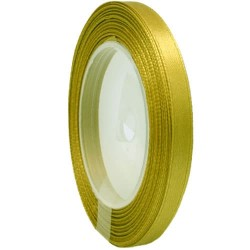 6mm Senorita Satin Ribbon - Khaki 246