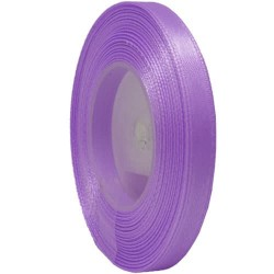 6mm Senorita Satin Ribbon - Light Lilac 255