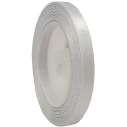 6mm Senorita Satin Ribbon - Shell Grey 41