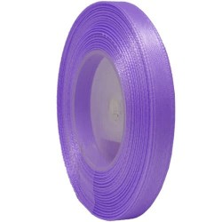 6mm Senorita Satin Ribbon - Light Orchid 42