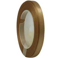 6mm Senorita Satin Ribbon - Espresso 5140