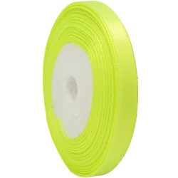6mm Senorita Satin Ribbon - Grass Green 535