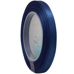 6mm Senorita Satin Ribbon - Dark Blue A13
