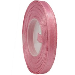6mm Senorita Satin Ribbon - Vintage Rose A37