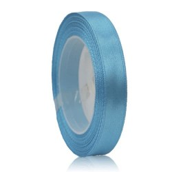 9mm Senorita Satin Ribbon - Sky Blue 22