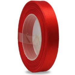 9mm Senorita Satin Ribbon - Red 28