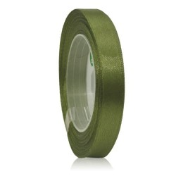 9mm Senorita Satin Ribbon - Dark Forest A09
