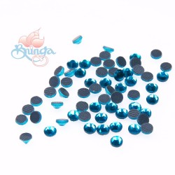 (SS6 - 2mm) SCZ Hotfix Crystals Blue Zircon - 10 Gross (1440pcs)