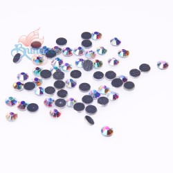 (SS6 - 2mm) SCZ Hotfix Crystals AB Rainbow - 10 Gross (1440pcs)