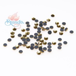(SS10 - 3mm) SCZ Hotfix Crystals Lt. Col. Topaz - 10 Gross (1440pcs)