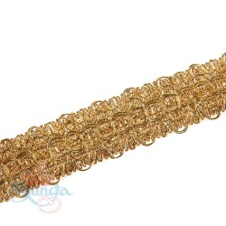 #10352 Gold Metallic Trimming - 1 Meter