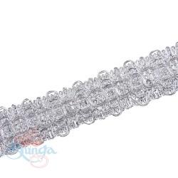 #10352 Silver Metallic Trimming - 1 Meter