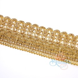 #2407 Gold Metallic Trimming - 1 Meter