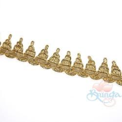 #604 Gold Metallic Trimming - 1 Meter