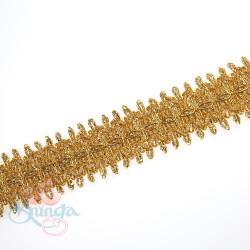 #66 Gold Metallic Trimming - 1 Meter
