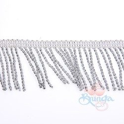 #9699 Silver Metallic Trimming - 1 Meter