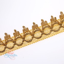 #981 Gold Metallic Trimming - 1 Meter