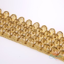 #010A Gold Metallic Trimming - 1 Meter