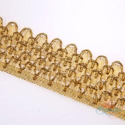 #010A Gold Metallic Trimming - 1 Meter