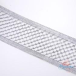 #F144 Silver Metallic Trimming - 1 Meter