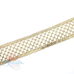#F143 Gold Metallic Trimming - 1 Meter