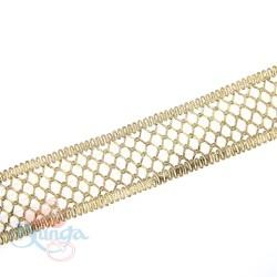 #F143 Gold Metallic Trimming - 1 Meter