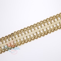 #F57A Gold Metallic Trimming - 1 Meter