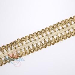 #F57A Gold Metallic Trimming - 1 Meter