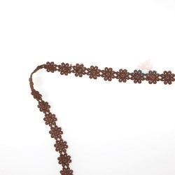 1031 Small Chemical Prada Lace Brown - 1 Meter