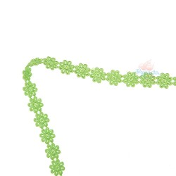 1031 Small Chemical Prada Lace Grass Green - 1 Meter