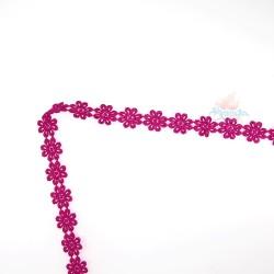 1031 Small Chemical Prada Lace Hot Pink - 1 Meter