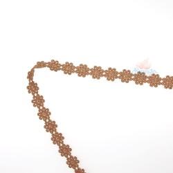 1031 Small Chemical Prada Lace Light Brown - 1 Meter