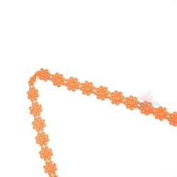1031 Small Chemical Prada Lace Orange - 1 Meter
