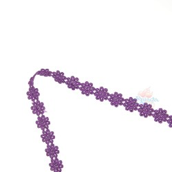 1031 Small Chemical Prada Lace Purple - 1 Meter